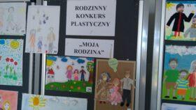 """Rodzinny konkurs plastyczny ,,MOJA RODZINA"""""""